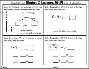 Engage NY Eureka Math First Grade