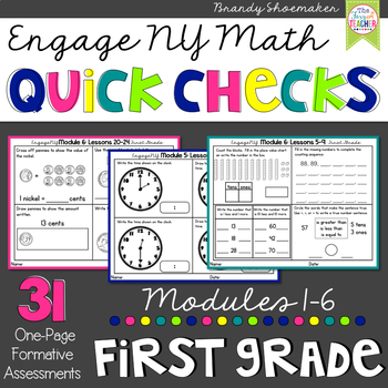 Engage NY Math First Grade
