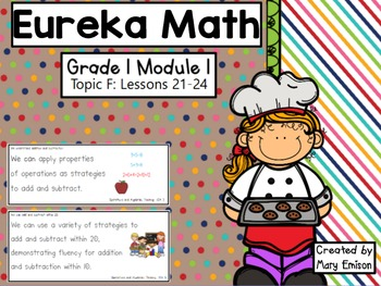 Eureka Math Flipchart (Module 1 Topic F)