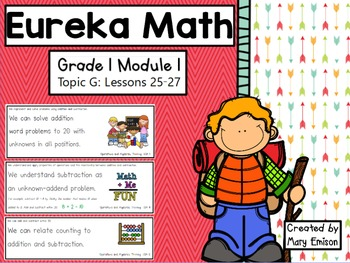 Eureka Math Flipchart (Module 1 Topic G)