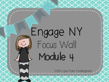 Engage NY Math Focus Wall Posters Module 4