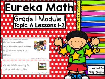 Eureka Math Flipchart (Module 1 Topic A)