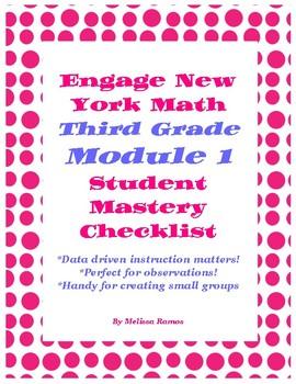 Engage NY Math Grade 3 Module 1 Checklist