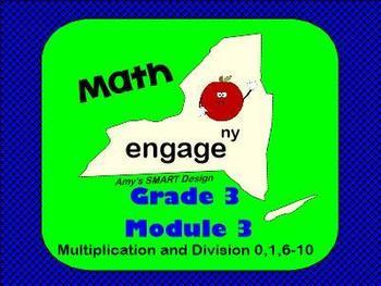Engage NY Math Grade 3 Module 3 SMARTBoard Lessons