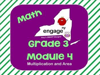 Engage NY Math Grade 3 Module 4 SMART Board Unit