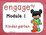 Engage NY Math,  Kindergarten, Module 1, 37 days of  PowerPoints