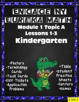 Engage NY  Math Kindergarten Module 1 Topic A Lessons 1-3 Eureka