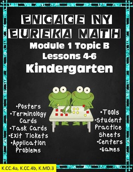 Engage NY Math Kindergarten Module 1 Topic B Lessons 4-6