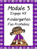 Engage NY Math,  Kindergarten, Module 3, Fun Supplemental Printables