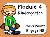 Engage NY Math,  Kindergarten, Module 4, 41 days of  PowerPoints