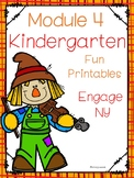 Engage NY Math,  Kindergarten, Module 4, Printables for Fall or Winter Themes