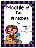 Engage NY Math, Kindergarten, Module 6, Fun Supplemental Printables