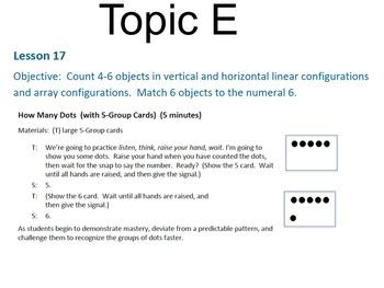 Engage NY Math Module 1 / Eureka Math Module 1 Topic E