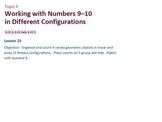 Engage NY Math Module 1 / Eureka Math Module 1 Topic F
