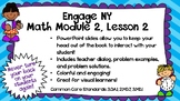 Engage NY Math Module 2, Lesson 2 PowerPoint Slides for Th