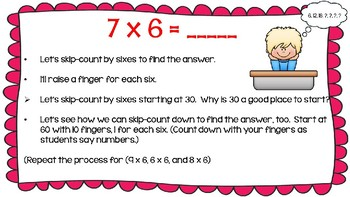 Engage NY Math Module 3, Lesson 6 PowerPoint Slides