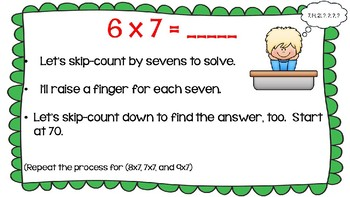 Engage NY Math Module 3, Lesson 8 PowerPoint Slides for Third Grade