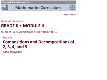 Engage NY Math Module 4/ Eureka Math Module 4 Topics A-H