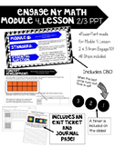 Engage NY, Math Module 4, Lesson 2&3 PowerPoint