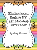 Engage NY Math Module Cover Sheets {Kindergarten}