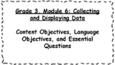 Engage NY Math Objectives 3rd Grade Module 6 Content & Lan