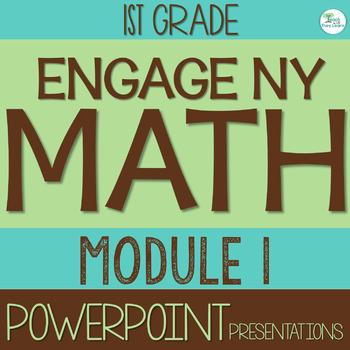 Engage NY Math SMART Board 1st Grade Module 1 ENTIRE MODULE Lessons 1-39