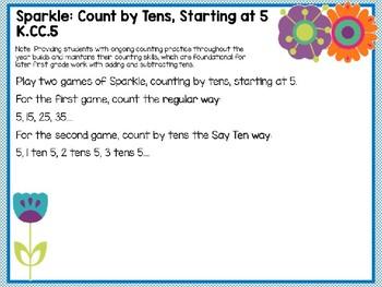 Engage NY (Eureka Math) Presentation 1st Grade Module 1 Lesson 20