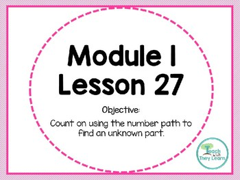 Engage NY (Eureka Math) Presentation 1st Grade Module 1 Lesson 27