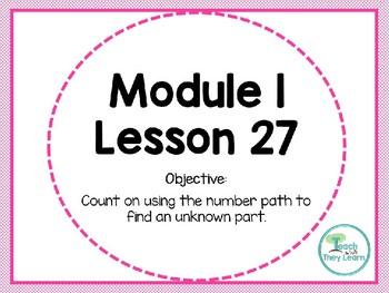 Engage NY Math SMART Board 1st Grade Module 1 Lesson 27