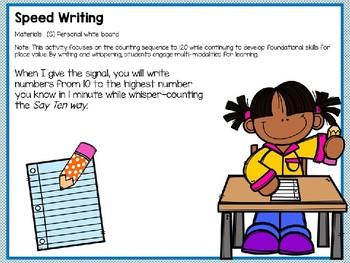 Engage NY Math SMART Board 1st Grade Module 1 Lesson 35