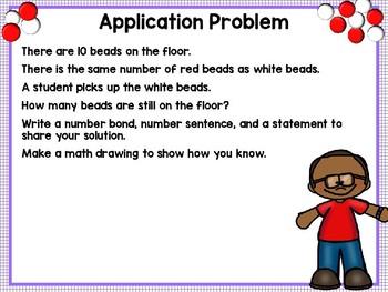 Engage NY Math SMART Board 1st Grade Module 1 Lesson 36