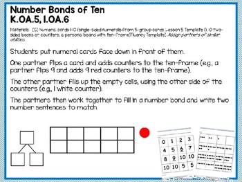 Engage NY (Eureka Math) Presentation 1st Grade Module 1 Lesson 36
