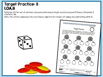 Engage NY (Eureka Math) Presentations 1st Grade Module 1 Topic F Lessons 21-24