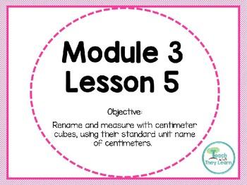 Engage NY/Eureka Math PowerPoint Presentation 1st Grade Module 3 Lesson 5