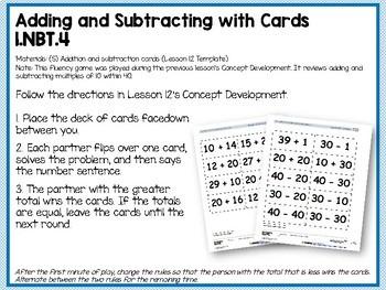 Engage NY (Eureka Math) Presentations 1st Grade Module 4 Topic D Lessons 13-18