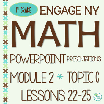 Engage NY Math SMART Board 1st Grade Module 2 Topic C Lessons 22-25 ZIP File
