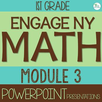 Engage NY Math SMART Board 1st Grade Module 3 ENTIRE MODUL