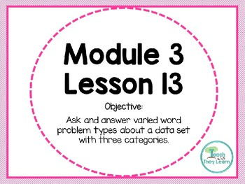 Engage NY Math Smart Board 1st Grade Module 3 Lesson 13