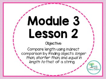 Engage NY (Eureka Math) Presentation 1st Grade Module 3 Lesson 2