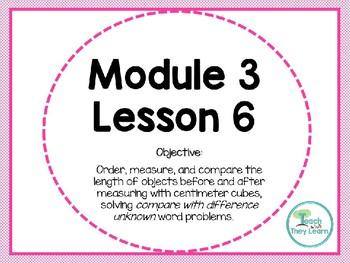 Engage NY Math Smart Board 1st Grade Module 3 Lesson 6