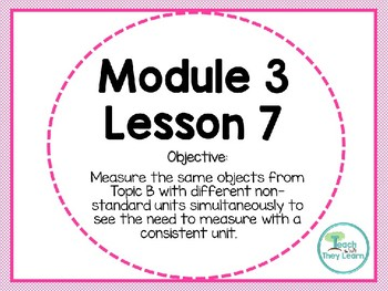 Engage NY (Eureka Math) Presentation 1st Grade Module 3 Lesson 7