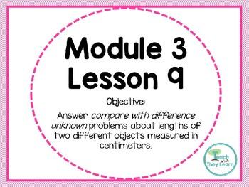 Engage NY Math Smart Board 1st Grade Module 3 Lesson 9