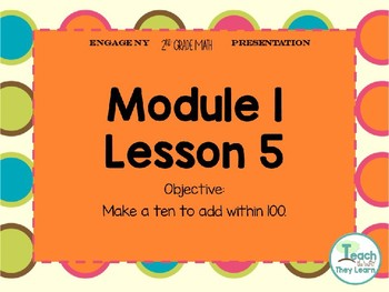 Engage NY Math Smart Board 2nd Grade Module 1 Lesson 5