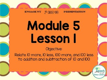 Engage NY Math Smart Board 2nd Grade Module 5 Lesson 1