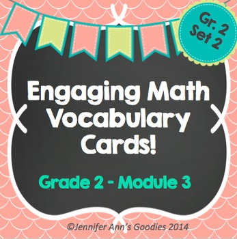 Engaging Math Vocabulary Cards 2.3
