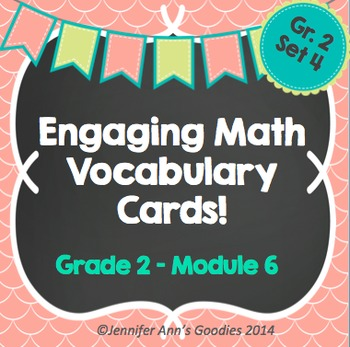 Engaging Math Vocabulary Cards 2.6