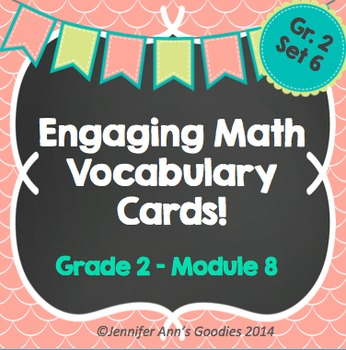 Engaging Math Vocabulary Cards 2.8