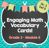 Engaging Math Vocabulary Cards 3.6