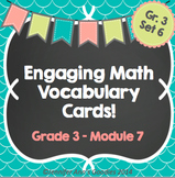 Engaging Math Vocabulary Cards 3.7