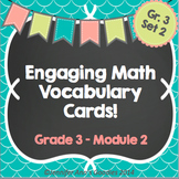 Engaging Math Vocabulary Cards 3.2